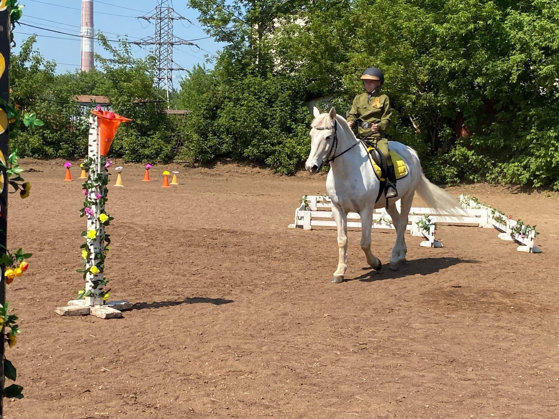 Завершился Республиканский конный фестиваль для детей с ограниченными возможностями здоровья